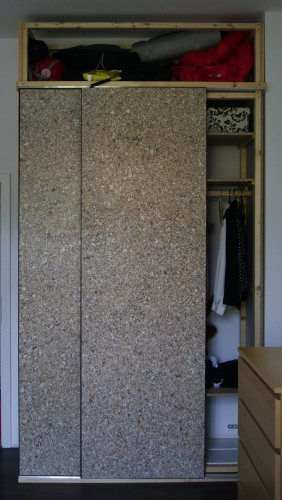 Door built-in wardrobes from PackWall Design boards