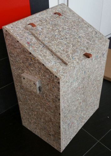 Waste bin from PackWall Design
